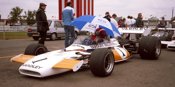 John Foulston raced this McLaren M19A in the very first HSCC Historic F1 race, and continued to use it in HSCC racing right up to his death in 1987.  Copyright Keith Lewcock 2018.  Used with permission.