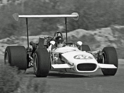 Ed Luke in his Lola T142, probably at 