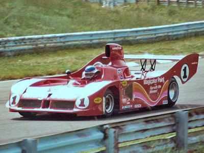 Patrick Tambay in the race-winning Carl A. Haas Racing Teams Lola T530 at Watkins Glen in 1980. Copyright Shaun Lumley  2000. Used with permission.