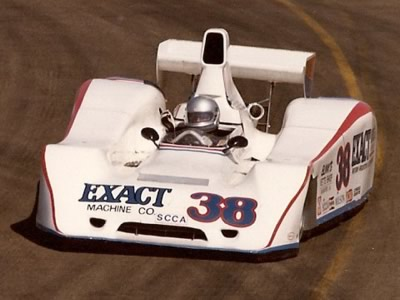Danny Johnson on his way to fifth place at Edmonton in 1981. Copyright Brent Martin  2010. Used with permission.