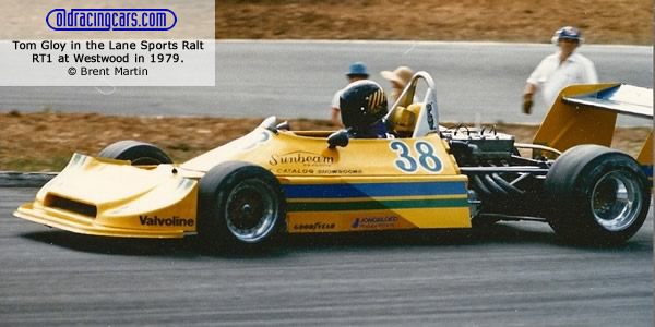1979 champion Tom Gloy in the Lane Sports Ralt RT1 at Westwood.  Copyright Brent Martin 2011.  Used with permission.