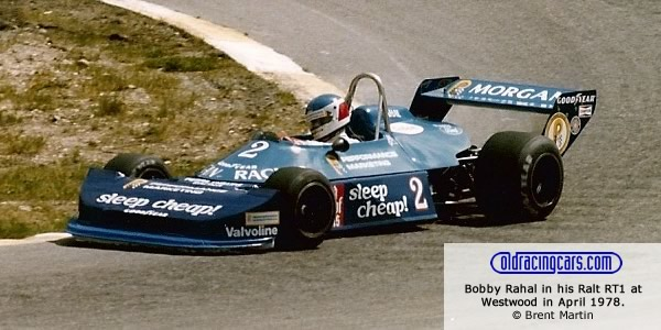 Bobby Rahal in his Ralt RT1 at Westwood in April 1978.  Copyright Brent Martin 2011.  Used with permission.