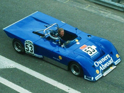 John Sheldon in the Owners Abroad B19 at Zandvoort in 1993. Copyright Pieter Melissen 2009. Used with permission.