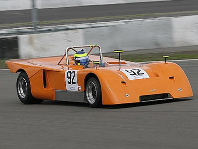Allen Timpany in '70-S-10' at the Nurburgring in 2007. Copyright Pieter Melissen 2009. Used with permission.