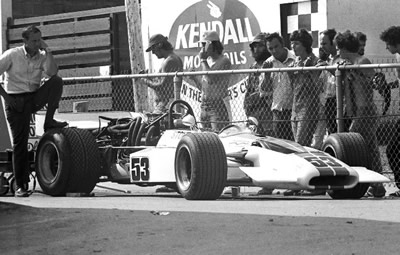 Fred Stout's Surtees TS5A at Mosport Park in 1975. Copyright Jerry Melton courtesy Cliff Reuter <a href=http://etceterini.com>etceterini.com</a>  2017. Used with permission.