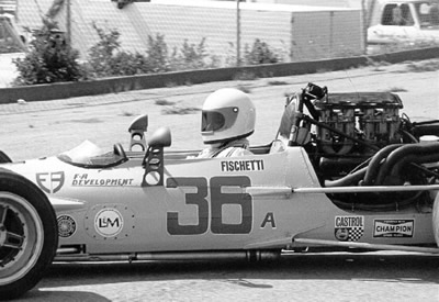 Robert Fischetti's Surtees TS5, probably at Laguna Seca 1971. Copyright Al Moore  2002. Used with permission.