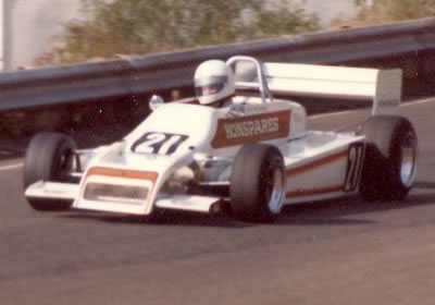 Tom Crozier's Mk7-Toyota at Amaroo Park in 1980.  Copyright Glenn Moulds 2006.  Used with permission.
