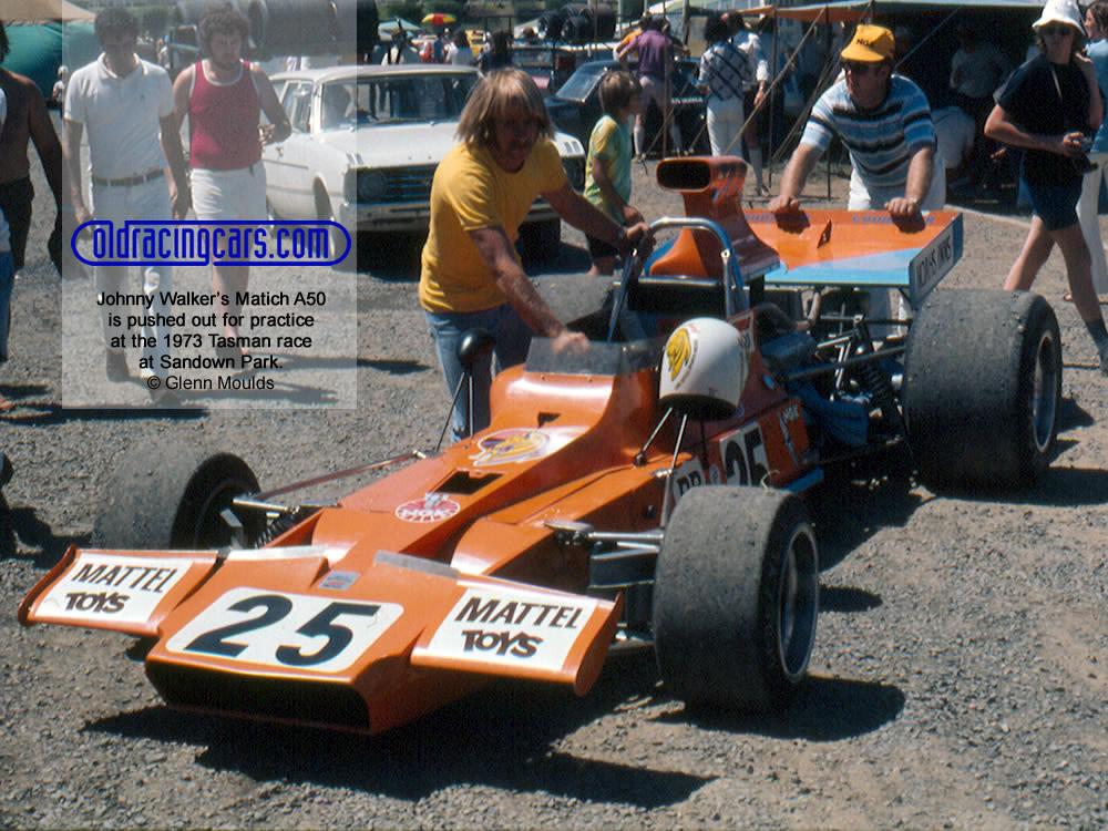 Matich A50 car-by-car histories | OldRacingCars.com