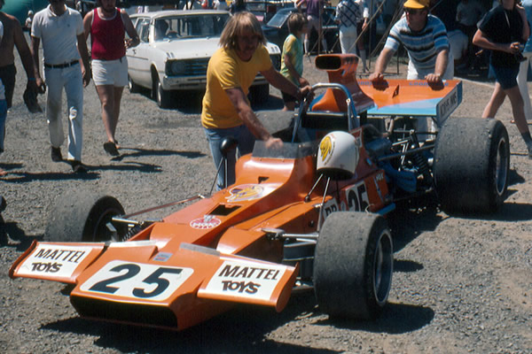 Johnny Walker's Matich A50 
