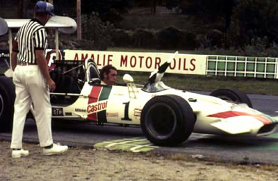 David Hobbs in his victorious Surtees TS5A at Lime Rock in 1970. Copyright Autosports Marketing Associates and Bill Oursler  2001. Used with permission.