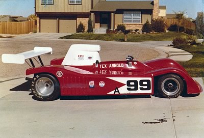 Ted Arnold's Riley-bodied Lola T332 Can-Am car. Copyright Gerre Payvis  2011. Used with permission.