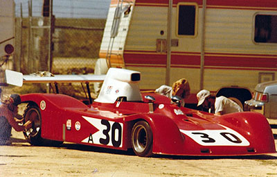 The ex-Tex Arnold car at Willow Springs. Copyright Gerre Payvis  2011. Used with permission.