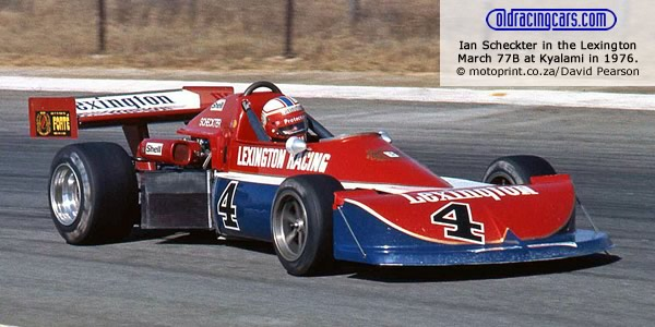 Roy Klomfass in the March 79B at Kyalami in 1979.  Copyright David Pearson 2012.  Used with permission.