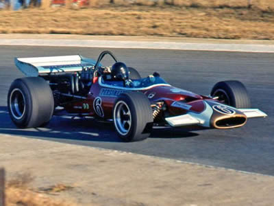Paddy Driver's ill-fated McLaren M10B at Kyalami in 1971. Copyright David Pearson 2007. Used with permission.