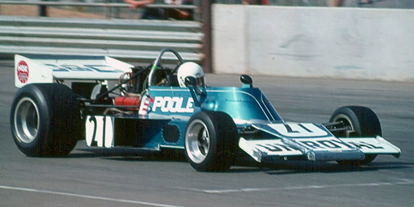 Keith Poole at Adelaide in February 1976, the Gardos's most competitive outing.  Copyright Kym Pedler 2004.  Used with permission.