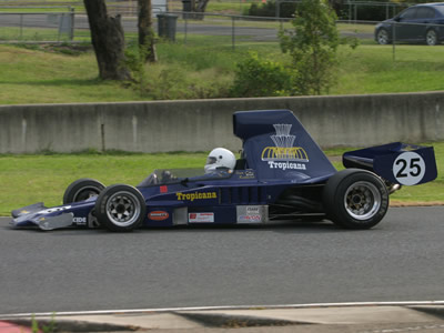 Stan Redmond's Lola T332C at Eastern Creek in November 2010. Copyright Marcus Pye 2010. Used with permission.