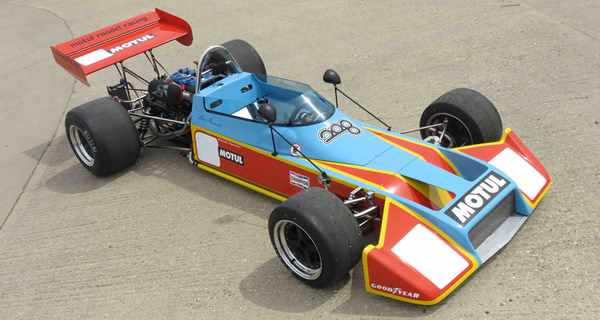 David Tomlin's beautifully restored Motul Rondel F2 in May 2017. Copyright Marcus Pye  2017. Used with permission.