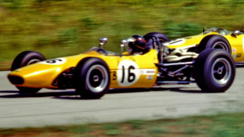 Tom Tufts at Road America in July 1969. Copyright Tom Schultz 2011. Used with permission.