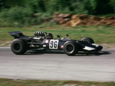 Mike Goth's Surtees TS5 at Road America 1969. Copyright Tom Schultz  2005. Used with permission.