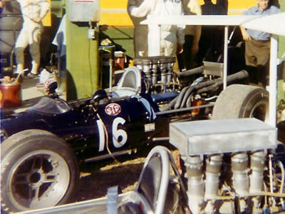 Fellow competitor Sandy Shepard took this shot of David Hobbs' Surtees TS5 at Sebring in 1969. Copyright Sandy Shepard  2006. Used with permission.