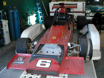 John McDonald's Lotus 70 when offered for sale by his estate in April 2005. Copyright Kirk Shorter 2005. Used with permission.