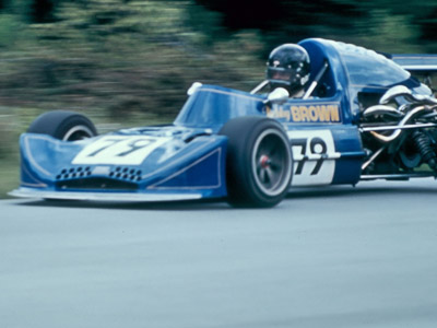 Bobby Brown in his March 74B at Westwood in May 1974. Copyright Kevin Skinner  2020. Used with permission.