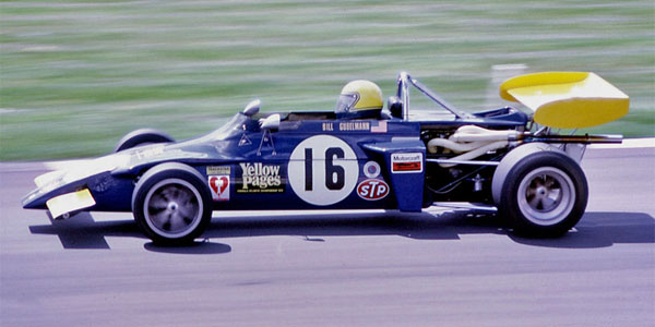 Bill Gubelmann in his March 722 at the BOAC 1000 km support race at Brands Hatch in April 1972. Copyright Gerald Swan  2017. Used with permission.
