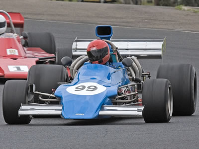 Graham Smith in the March 732/73A at Eastern Creek in November 2008. Copyright Richard Taylor 2009. Used with permission.