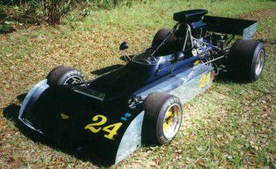 The ex-Dunkel Chevron B24 in January 2001. Copyright Jack Boxstrom  2001. Used with permission.