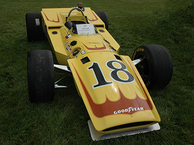 The ex-Michner 1967 Eagle at the Amelia Island Concours in 2007. Copyright <a href=https://www.conceptcarz.com/vehicle/z11338/aar-eagle-indy-car.aspx target=_blank>conceptcarz.com</a> 2020. Used with permission.