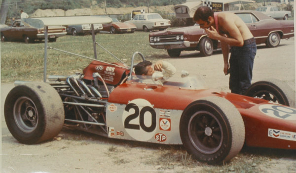 Art Kijek in the KayTee Formula A at Lime Rock in September 1969. Copyright Stuart Beringer  2020. Used with permission.
