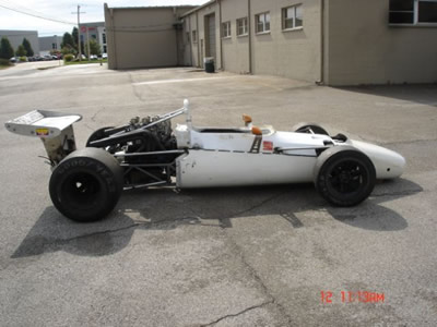 Jack Chisenhall's Lola T140 in 2013. Copyright Jack L Chisenhall  2013. Used with permission.