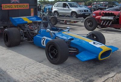 Anthony Brazzo's Lola T142 in 2006. Copyright Anthony Brazzo  2006. Used with permission.