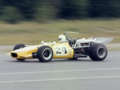 Dick Thymian racing his ex-Lew Florence Lola T142. Copyright Richard Thymian  2010. Used with permission.