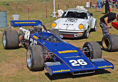 Kieran Patel's Lola T192 at the Baskerville Historics in October 2015. Licenced by 'Peter' under Creative Commons licence Attribution-NonCommercial 2.0 Generic. Original image has been cropped.