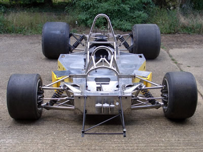Graham Earl's Lola T332 as he acquired it from Chris Perkins in 2007. Copyright Graham Earl  2007. Used with permission.