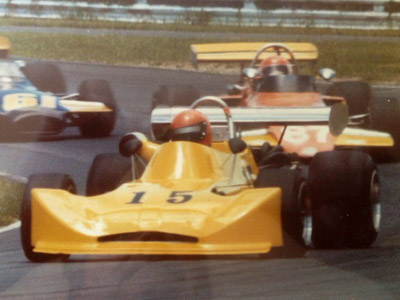 Bobby Reen in his March 73B winning a SCCA Regional at Lime Rock in1975. Copyright Bobby Reen 2017. Used with permission.