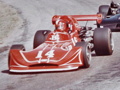 Jackie Cooper in the March 74B at Ponca City in 1975. Copyright Dorsey Schroeder  2012. Used with permission.