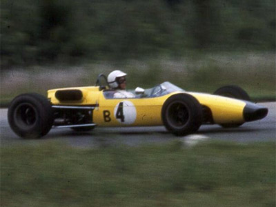 Nick Craw in his Brabham BT21C at Virginia International Raceway in July 1968. Copyright Ed Cabaniss (virhistory.com) 2019. Used with permission.