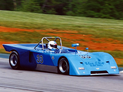 Rasim Tugberk in a Chevron B19 at Road Atlanta in April 1997. Copyright Norbert Vogel 2009. Used with permission.