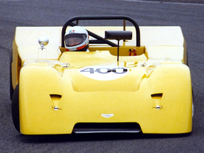 Hubert Ravier in a Chevron B19 in a race at Croix-en-Ternois, probably in May 1989. Copyright Norbert Vogel 2009. Used with permission.