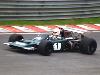 Helmut Dango's Lotus 70 at Spa in 1996. Copyright Norbert Vogel  2007. Used with permission.