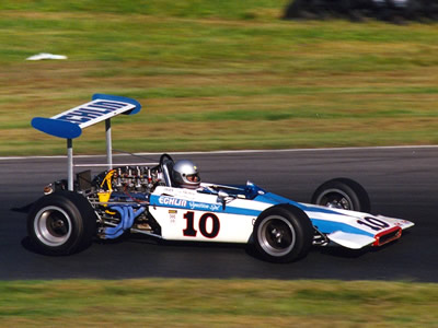 Barry Prehodka's ex-Smothers Lotus 70 at Lime Rock in 1990. Copyright Norbert Vogel  2007. Used with permission.