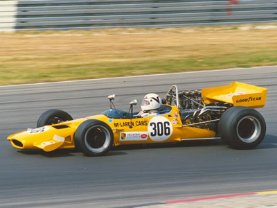 Richard Weiland in his McLaren M10B at the Nürburgring in 1990. Copyright Norbert Vogel 2007. Used with permission.