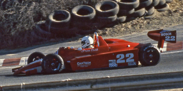 Price Cobb in his Ralt RT5/83 at Laguna Seca in October 1983.  Copyright Dan Wildhirt 2015.  Used with permission.