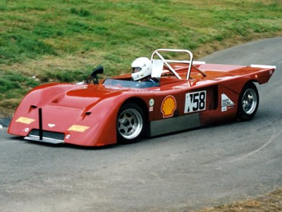 The George family Chevron B19 at Gurston Down in 2002. Copyright Steve Wilkinson  2009. Used with permission.