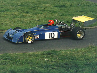 Richard Shardlow's Chevron B25/B27 at Harewood in 1974. Copyright Steve Wilkinson  2016. Used with permission.
