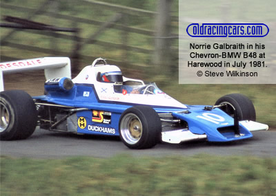 Norrie Galbraith in his 