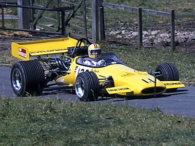 Don Robinson in the M10B at Harewood on 6 July 1975. Copyright Steve Wilkinson  2006. Used with permission.