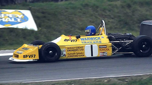 Derek Warwick won the Vandervell title in his Ralt RT1/77.  Copyright Steve Wilkinson 2009.  Used with permission.